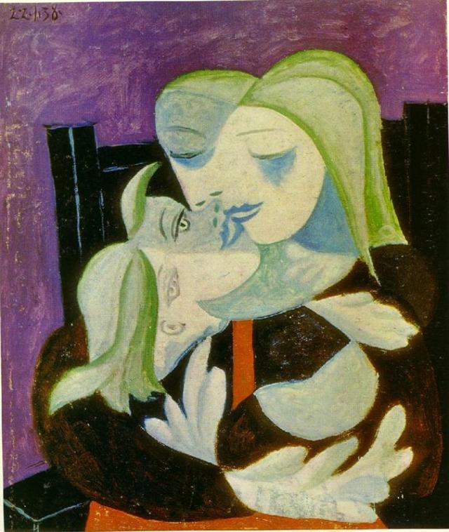 mother-and-child-marie-therese-and-maya