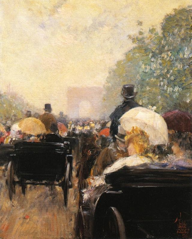 carriage-parade
